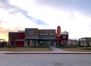 Willie G's: Colt Concrete supplied the concrete for establishment located in Grand Parkway Marketplace at SH99 and Kuykendahl