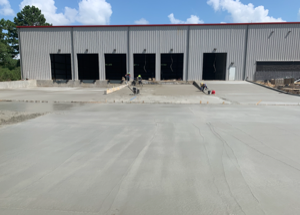 - DEVELOPMENT AT 219 CORPORATE WOODS, MAGNOLIA: Delivered over 3,500 CY of concrete with average slab pour sizes over 800 cy